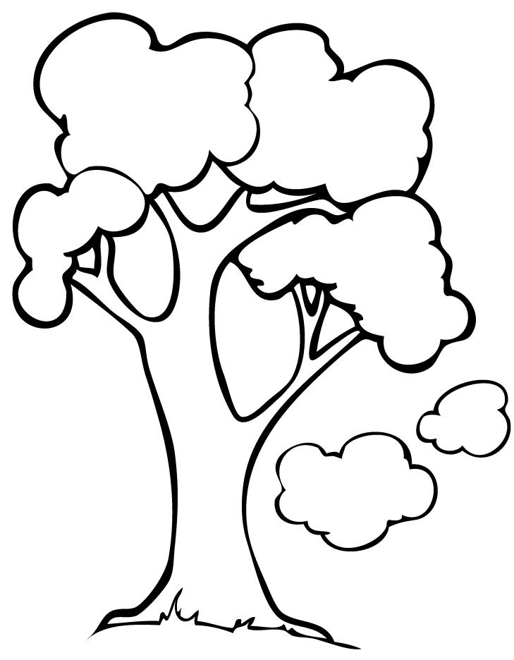 dibujos de arboles sin hojas para imprimir - Dibujos Para Colorear ...