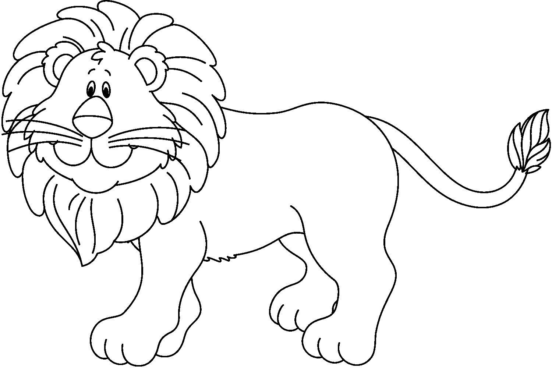 Dibujos para colorear LEON