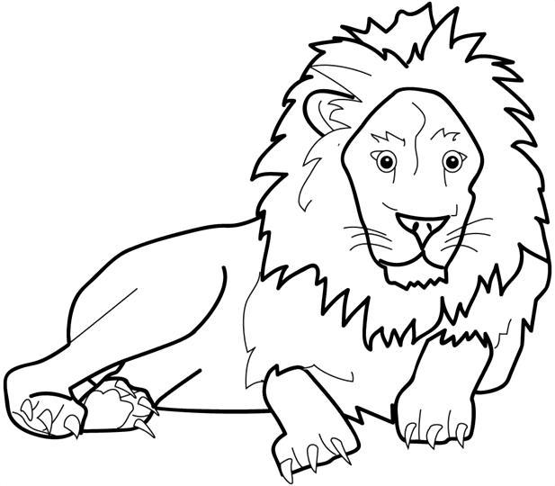 Dibujos para colorear de Invizimals León adulto