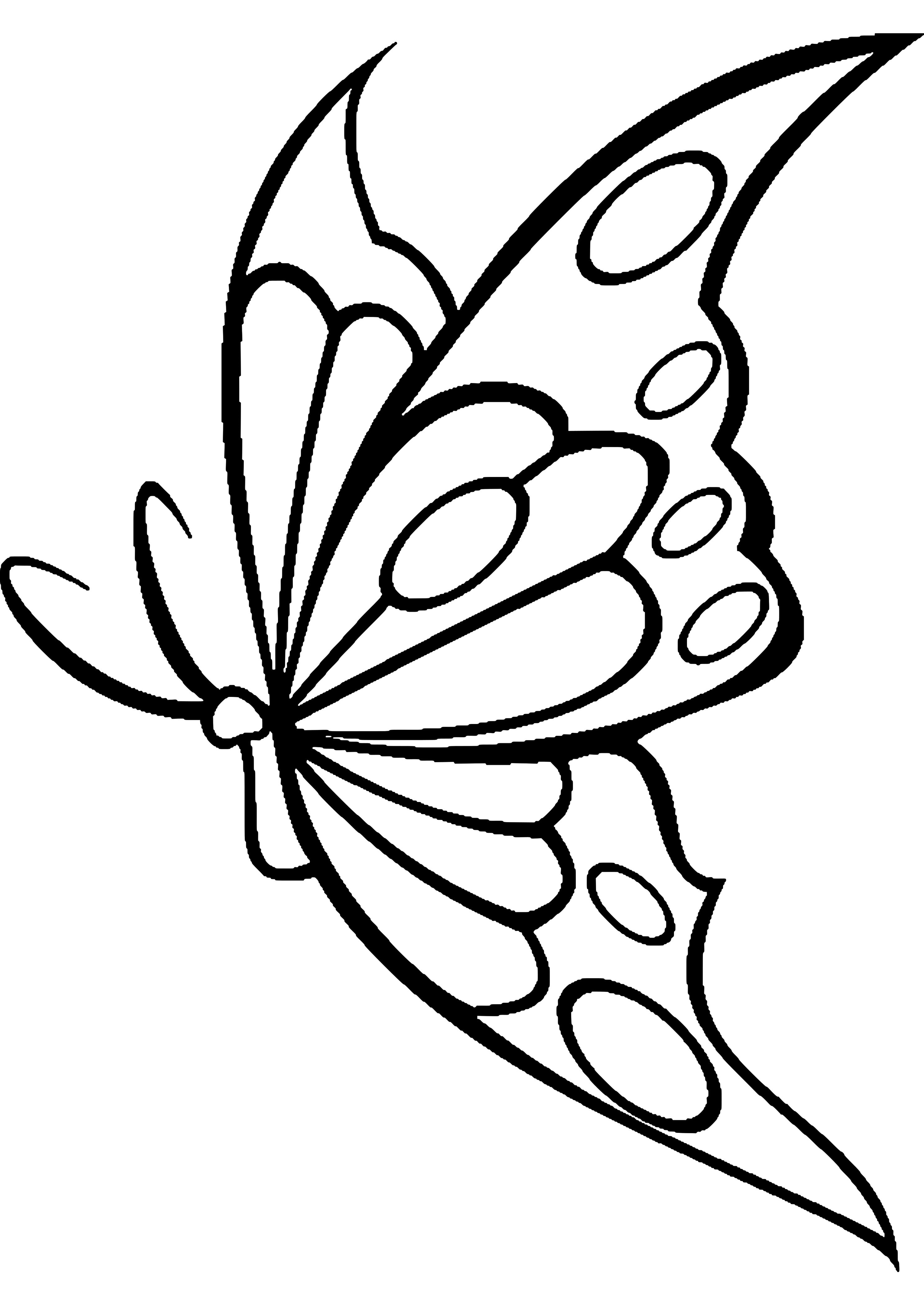 Mariposas para Colorear o Dibujar