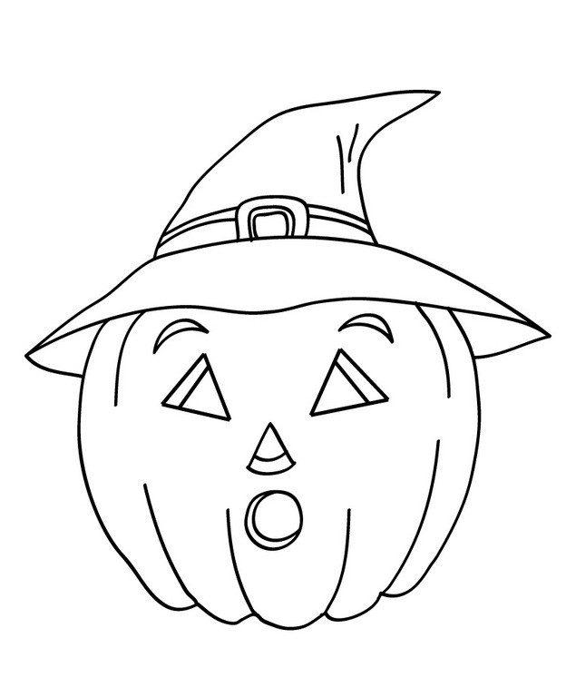 dibujos de halloween para colorear calabazas e1540126034596