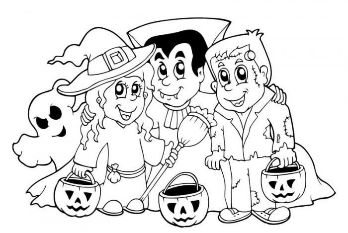 dibujos de halloween para colorear e1540126116679