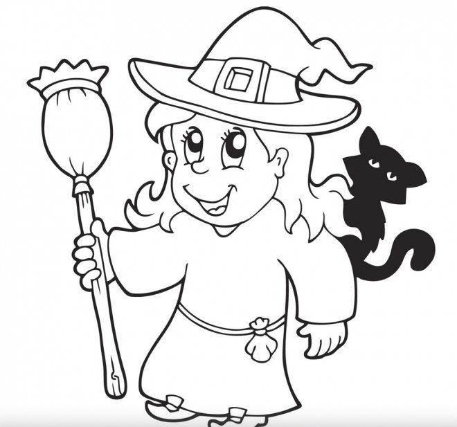 dibujos de halloween para colorear faciles e1540126098248