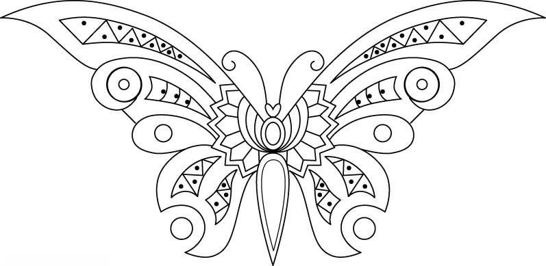 dibujos de mariposas hermosas