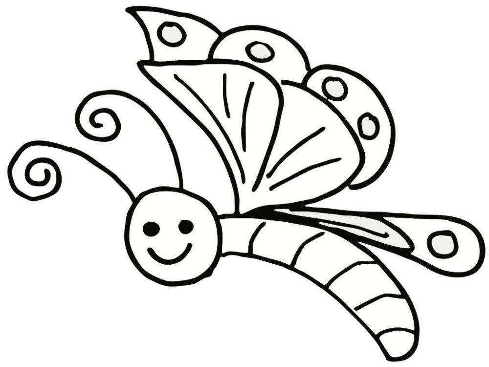 dibujos de mariposas infantiles