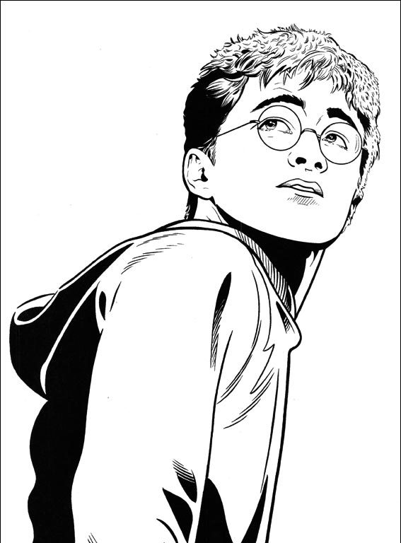 harry potter para colorear quidditch e1540182619723