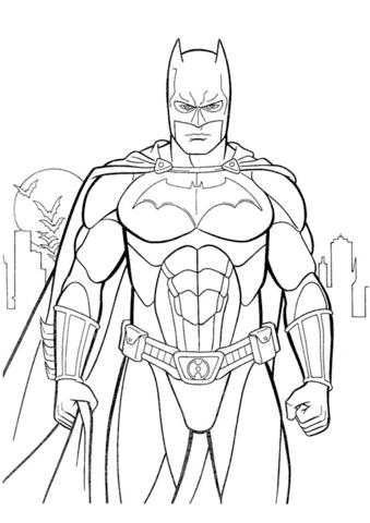 Batman Dibujo para colorear Mandalas Para Colorear Dibujos Para Colorear