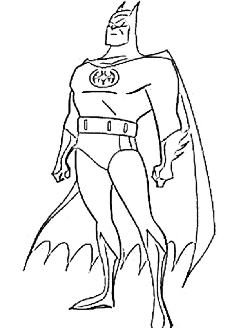 Dibujo para colorear Batman Páginas para colorear