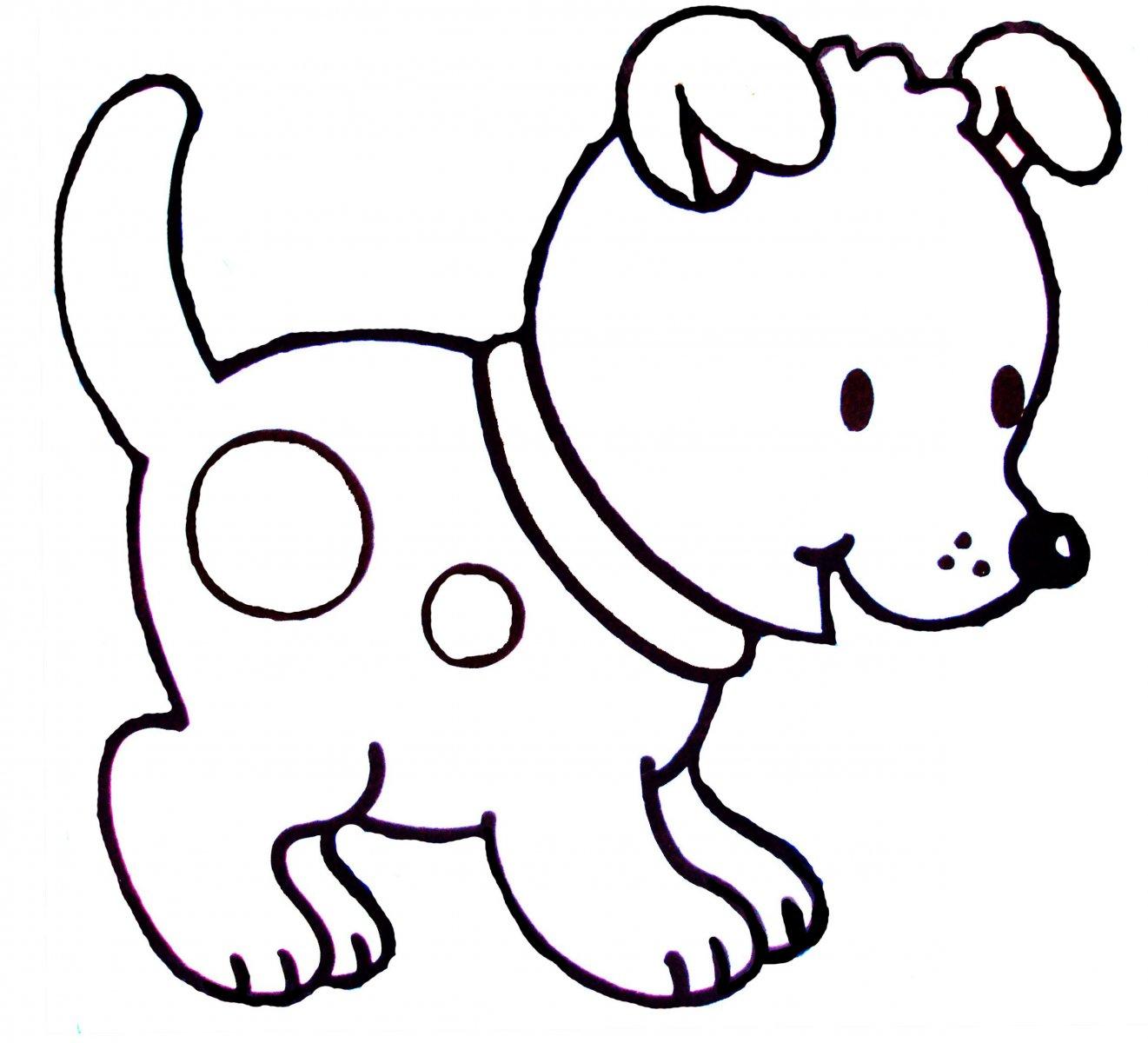 Dibujos de perros para colorear Dibujos de perros para colorear