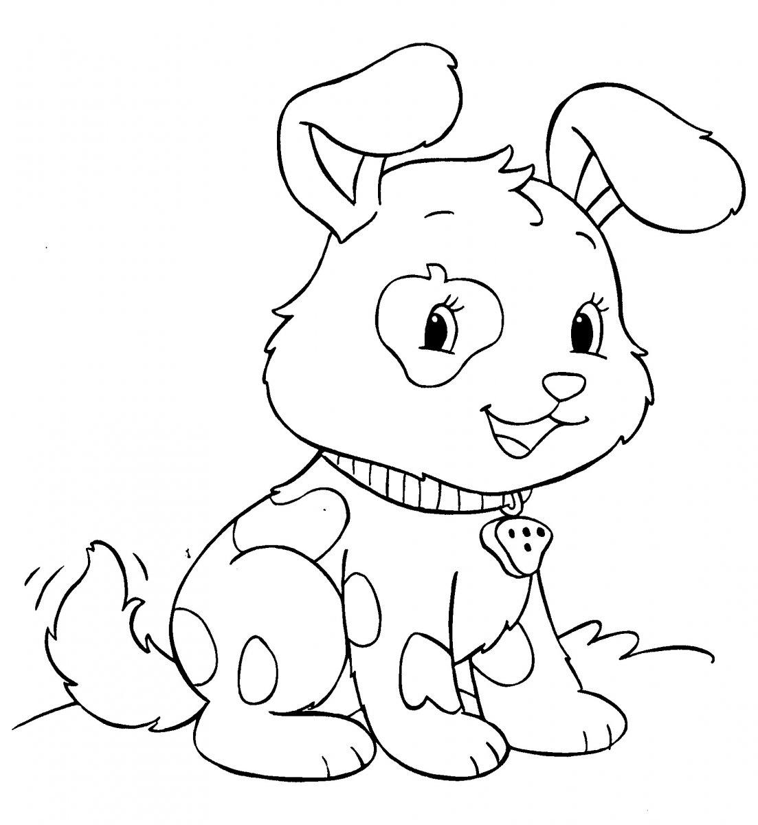 Dibujos de perros para pintar