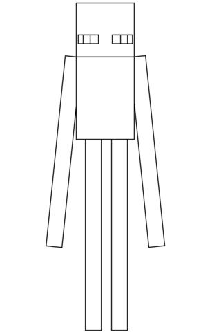 Enferman de Minecraft Dibujo para colorear 2938429374
