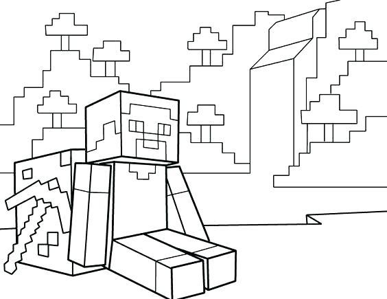 Minecraft Para Colorear 9919423