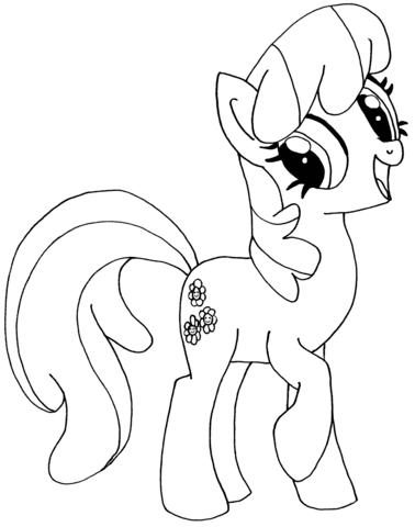 My Little Pony Cheerilee Dibujo para colorear 01