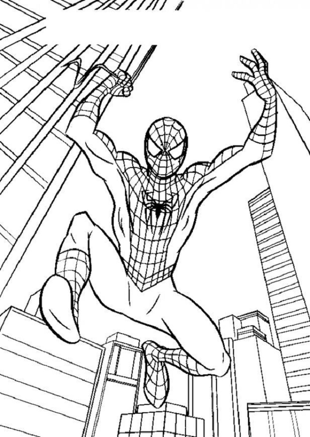 Spiderman Publicado en by Dibujos para colorear
