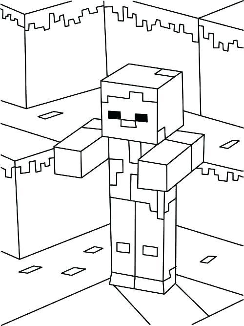 paginas para colorear para minecraft para para dibujos para colorear de minecraft steve