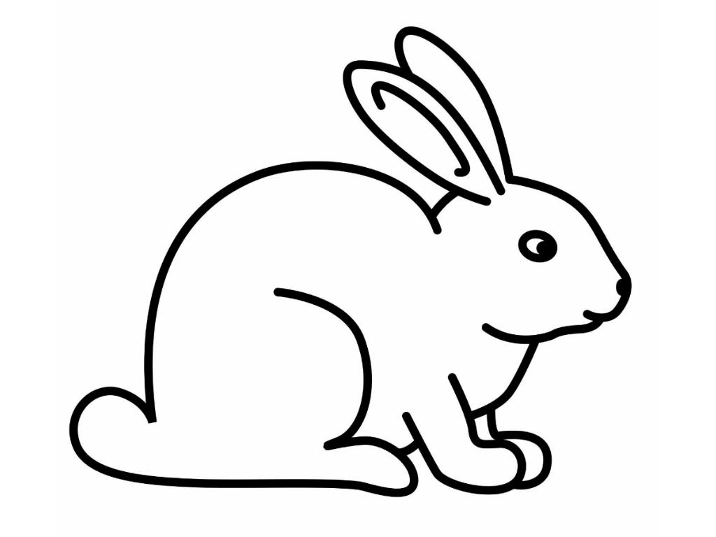 para imprimir y colorear conejos gratis