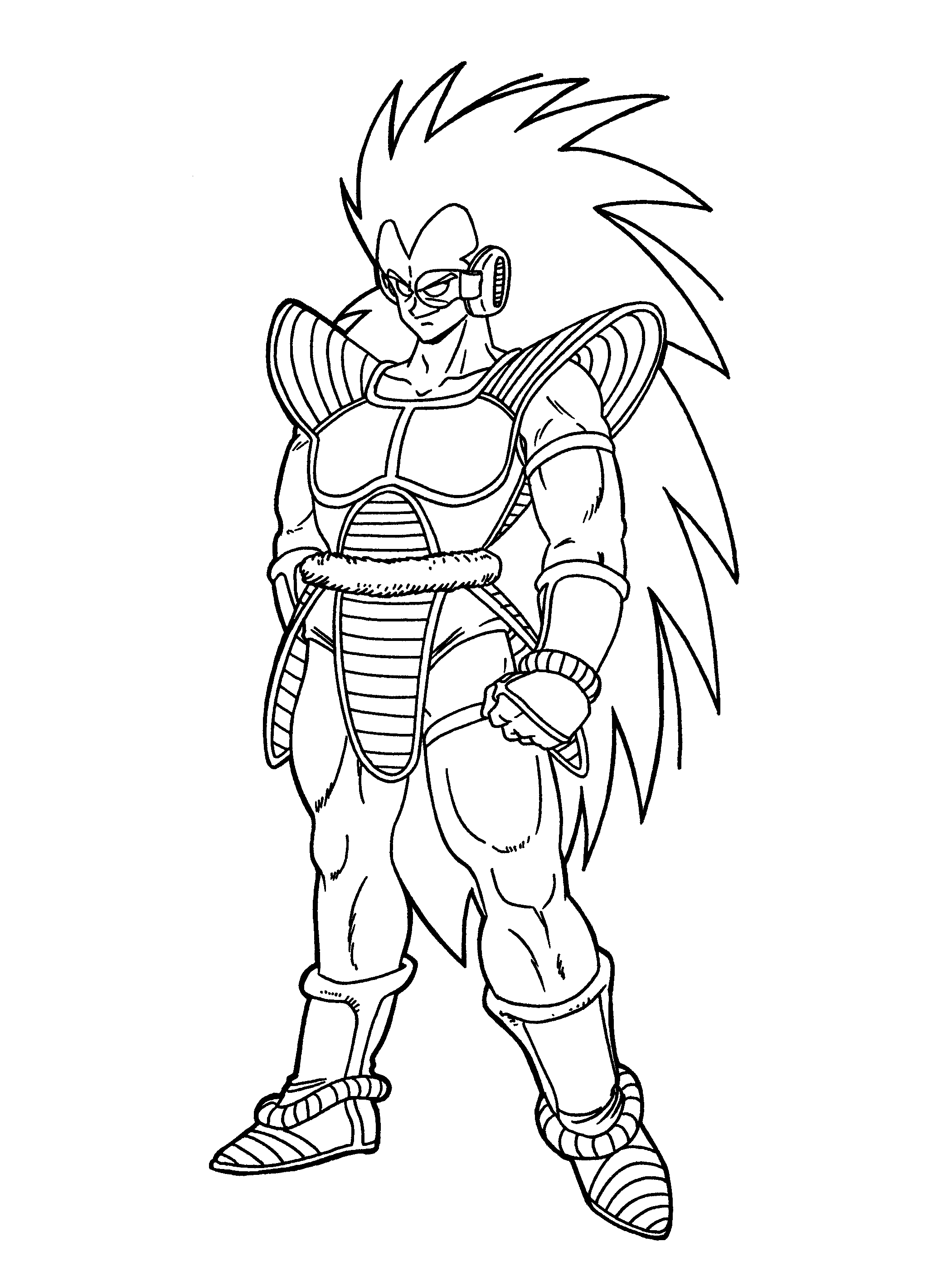 Dibujos De Dragon Ball Super Para Colorear Dibujos Para Colorear