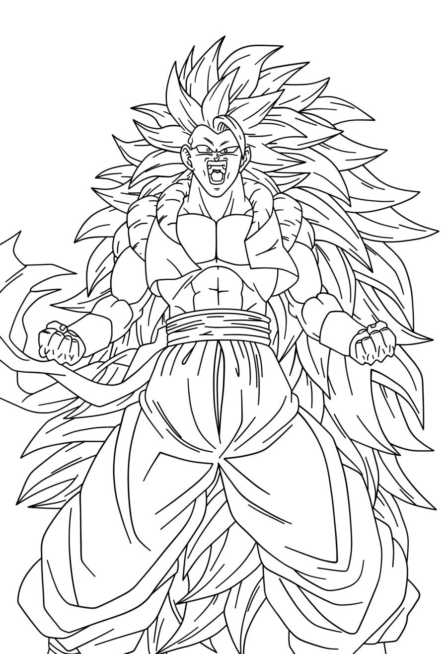 Dibujos para colorear de dragon ball para colorear
