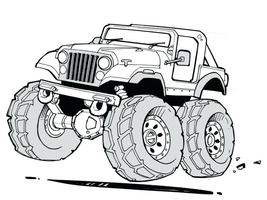 Jeep Para Colorear Jeep Para Jeep Para Colorear E Imprimir