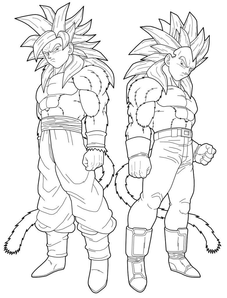 Juegos Dibujos Para Colorear Dragon Ball Z