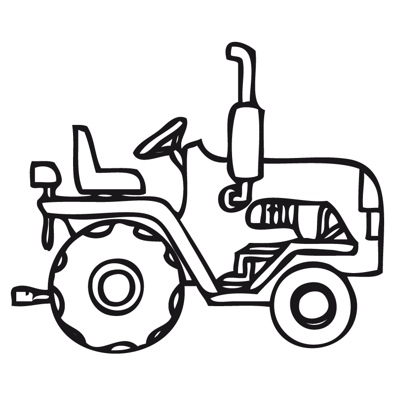 Tractores Para Pintar 2834729843