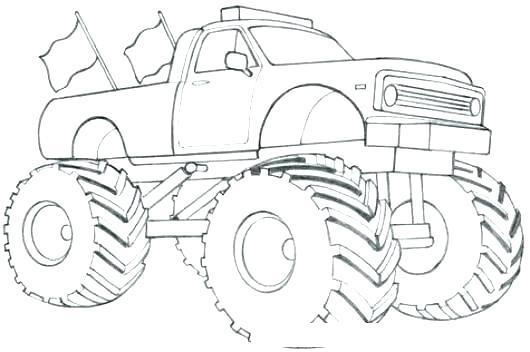 Dibujos De Monster Truck Para Colorear Dibujos Para Colorear