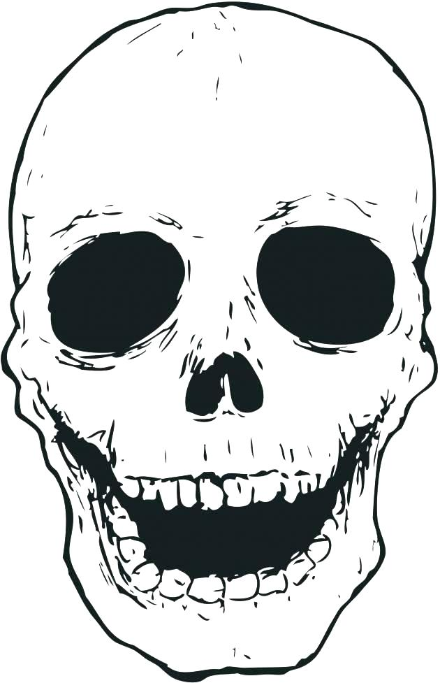 Dibujos de Cráneos Para Colorear - Dibujos Para Colorear ...
