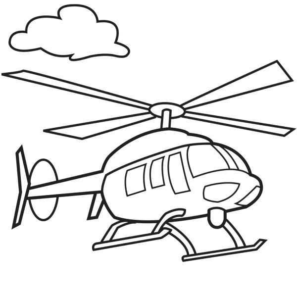 helicoptero para colorear dibujos de helicopteros para colorear e imprimir