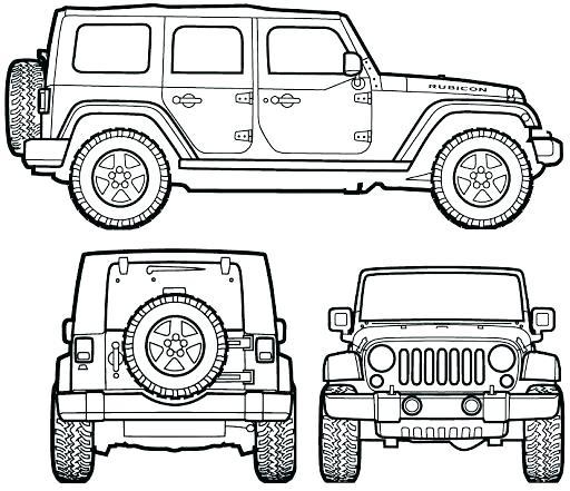 jeep para colorear jeep para jeep wrangler