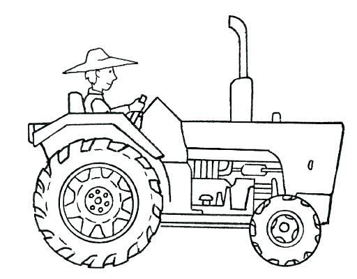 tractor para colorear john para para y en blog para con y para john 2938239473