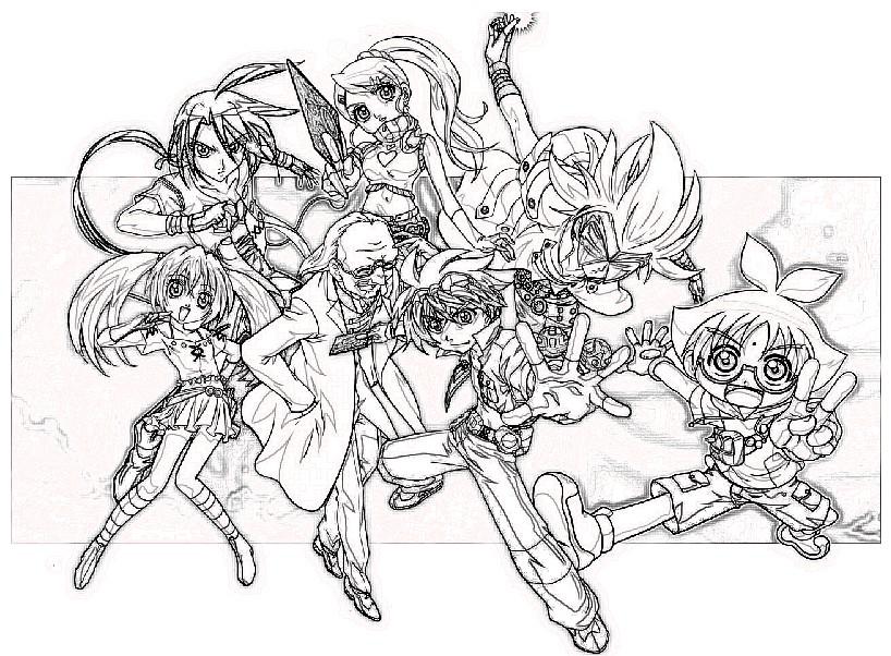 Bakugan todos los personajes para colorear. Bakugan todos los personajes para colorear