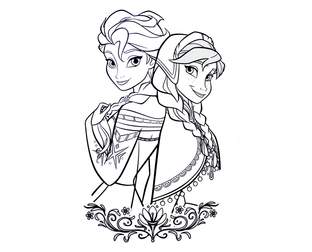 Disney Dibujos En Color: Dibujos De Princesas 👸 Para Colorear