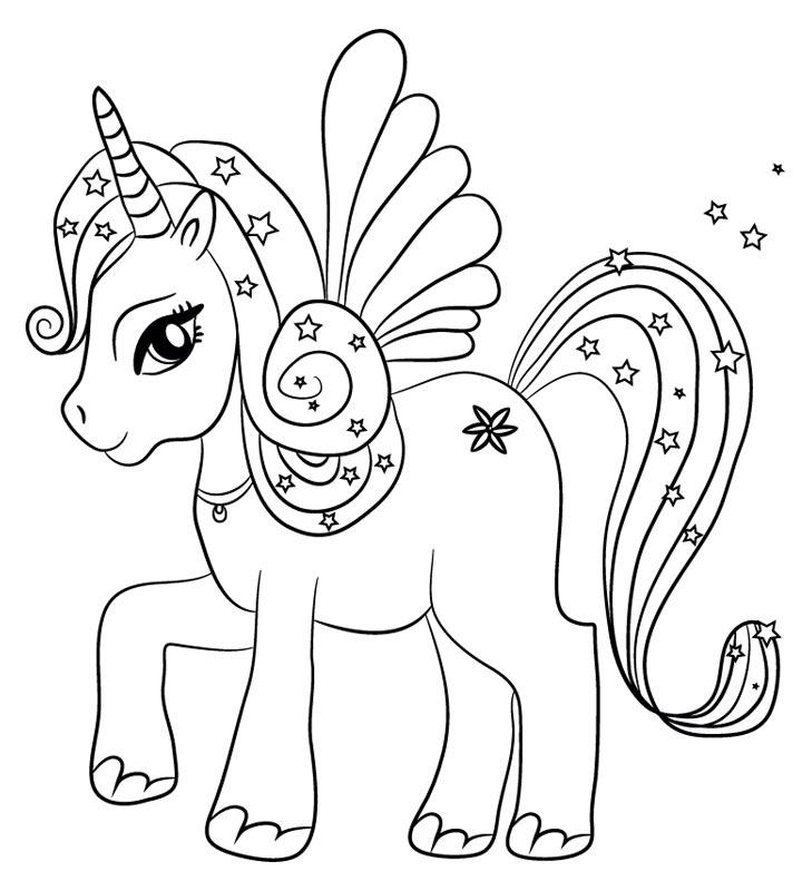 Imágenes de Unicornios kawaii png