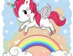 Dibujos De Unicornios 🦄 Para Colorear