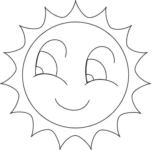DIBUJO DEL SOL PARA COLOREAR e1550008033123