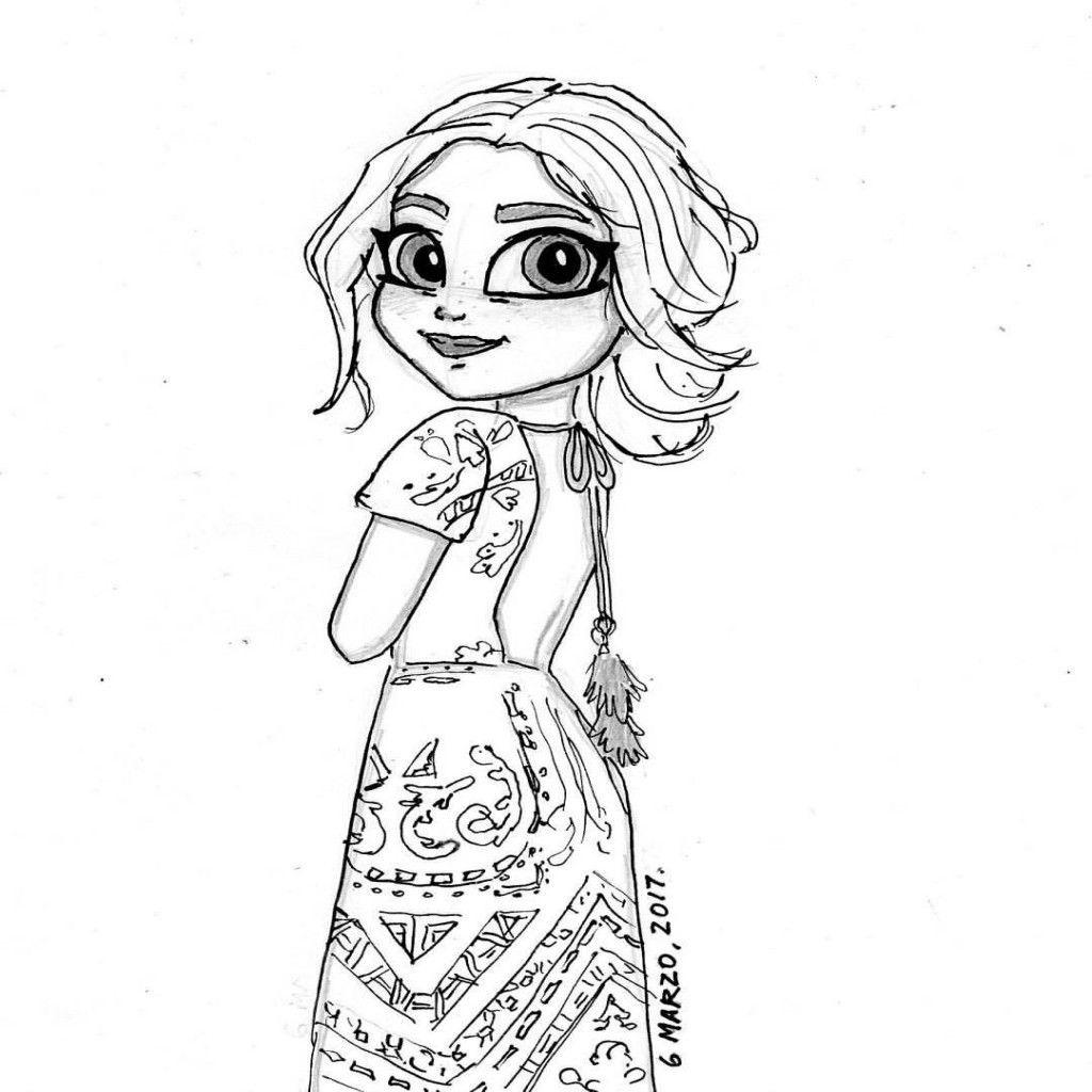 Dibujos Para Imprimir Y Colorear soy Luna