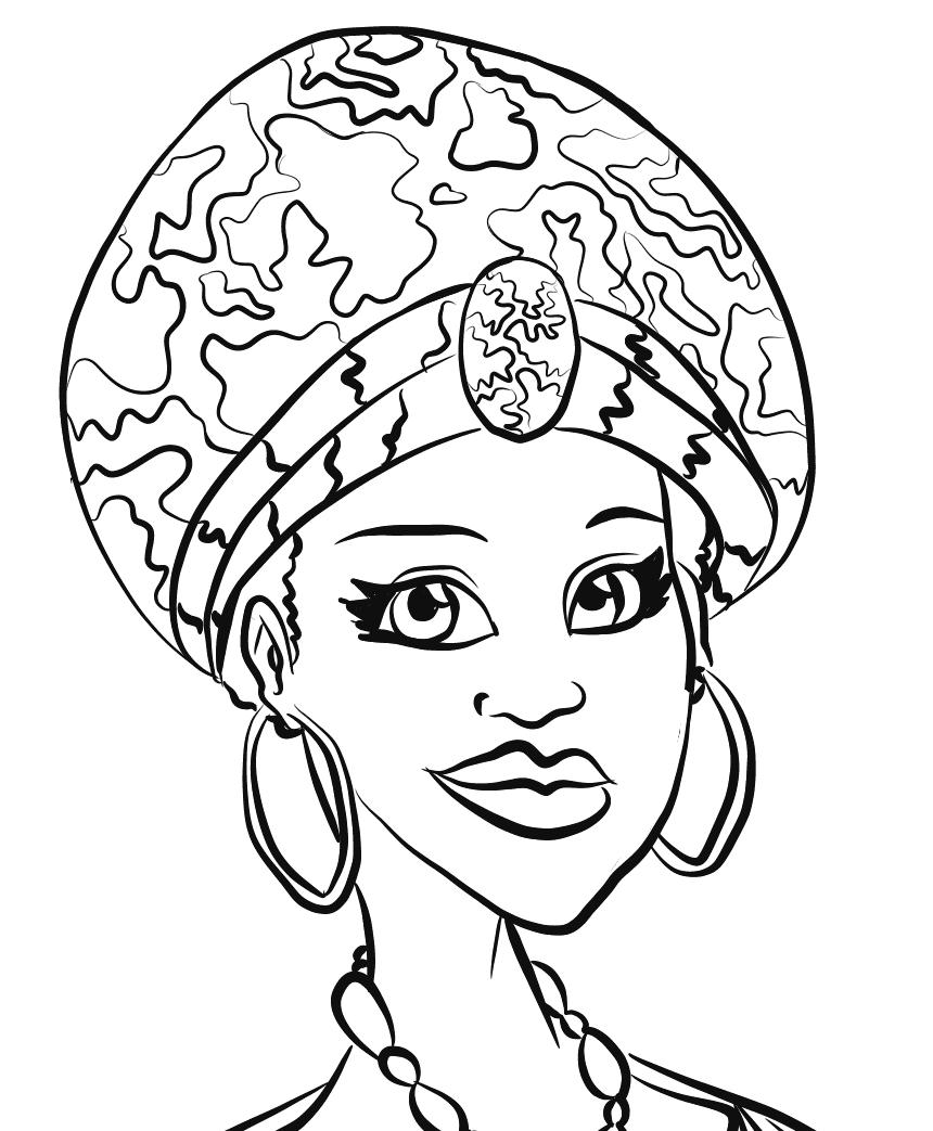 Dibujos de África para colorear e1550714875848