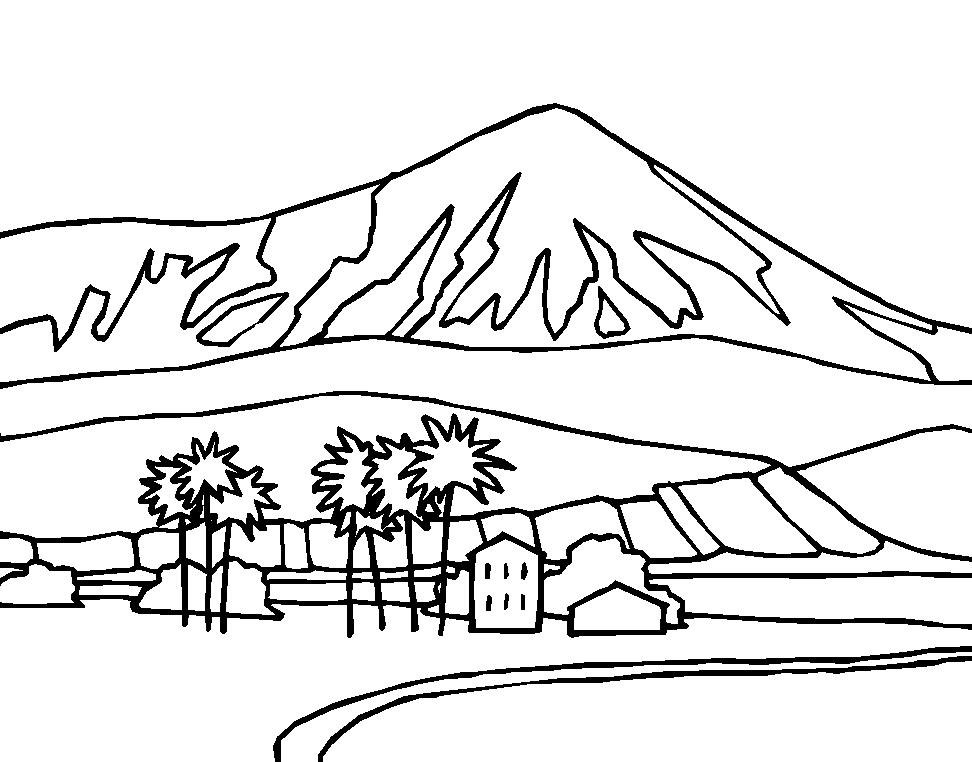 dibujos de Paisajes para colorear e1550004016561