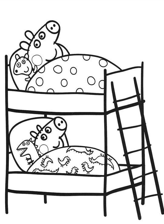 dibujos de Peppa Pig para imprimir y pintar e1549941223270