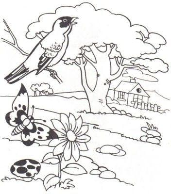 dibujos para colorear de paisajes para usar Más e1550003848649