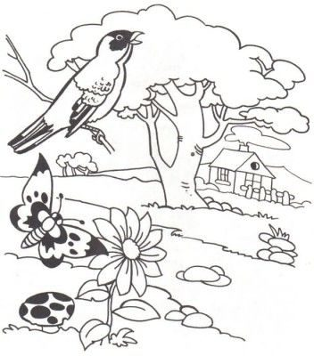 Dibujos De Paisajes Para Colorear E Imprimir Para Adultos Dibujos