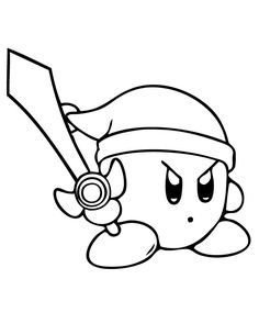 Dibujos De Kirby Para Colorear Dibujos Para Colorear Coloreartvcom