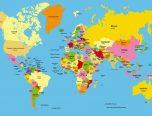 Dibujos De Mapamundi Para Colorear