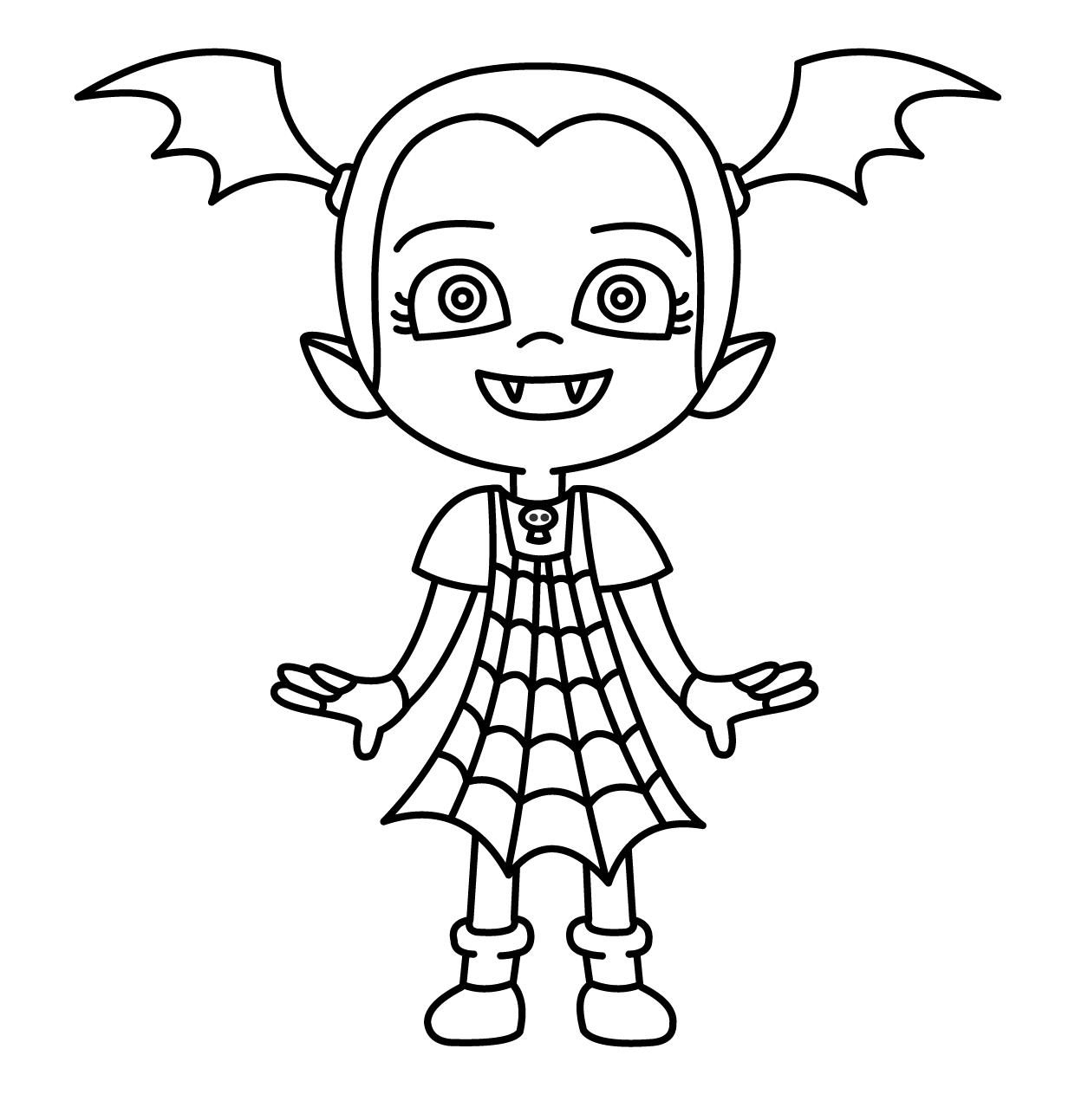 vampirana para colorear e1549054505879