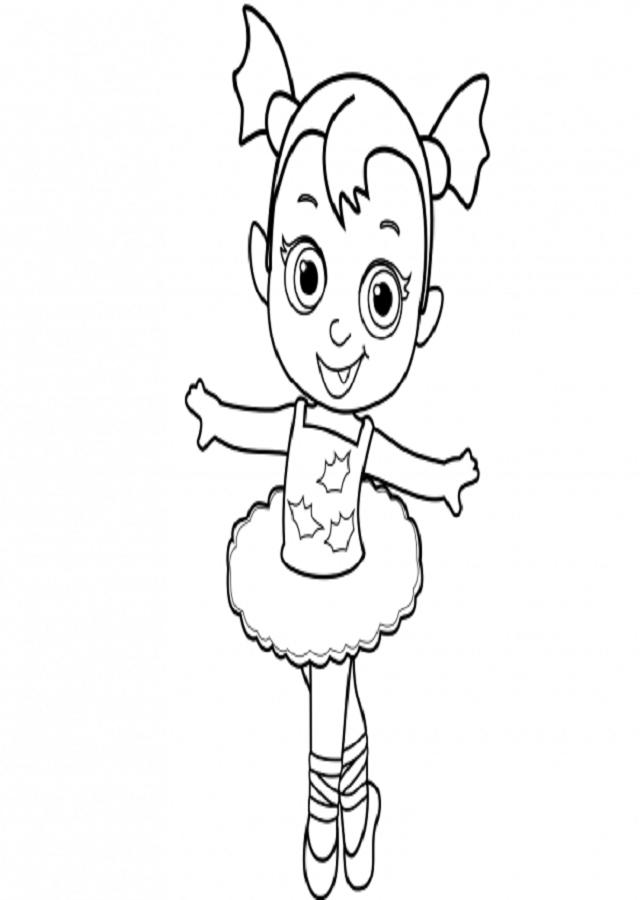 vampirina bebe dibujos