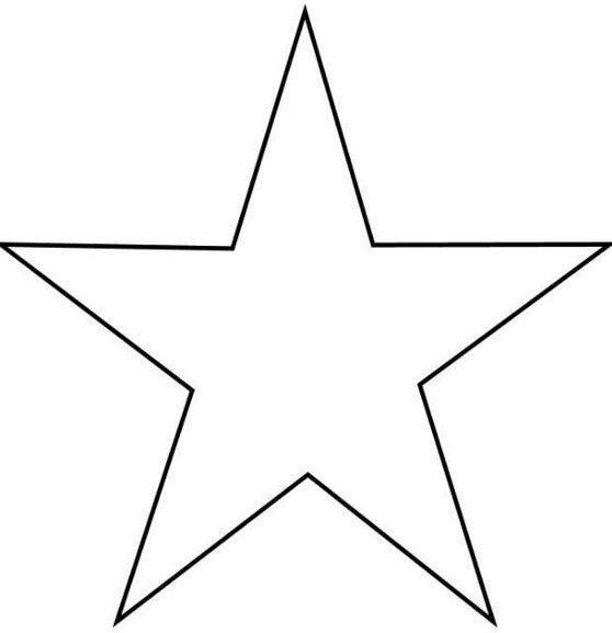 Dibujo para colorear Estrella e1554159965731