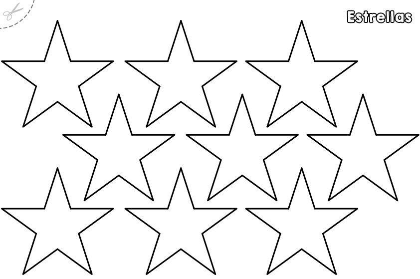 Plantillas de estrellas para imprimir e1554159895582