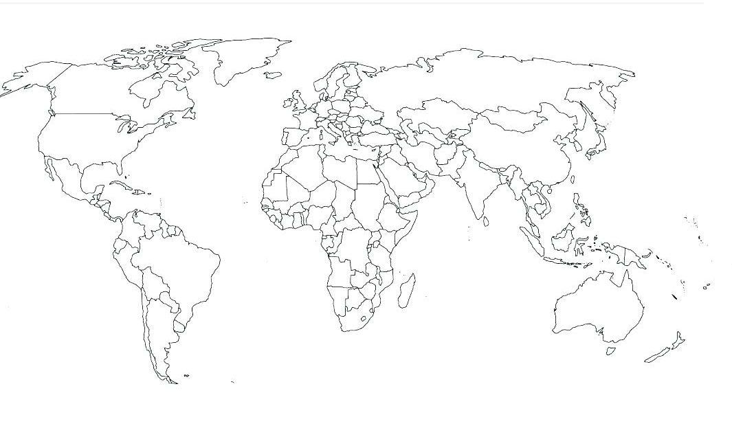 mapa del mundo colorear e1555100563597