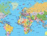 Mapa Del Mundo Para Colorear