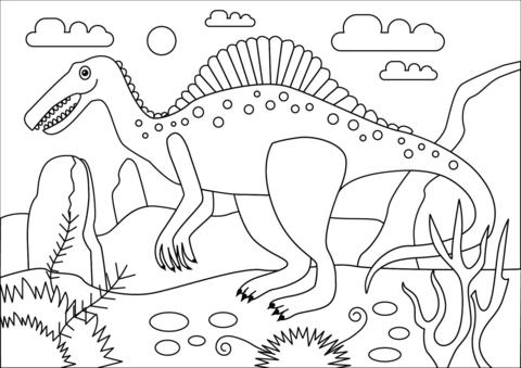Dibujos De Dinosaurios Para Colorear Dibujos Para Colorear